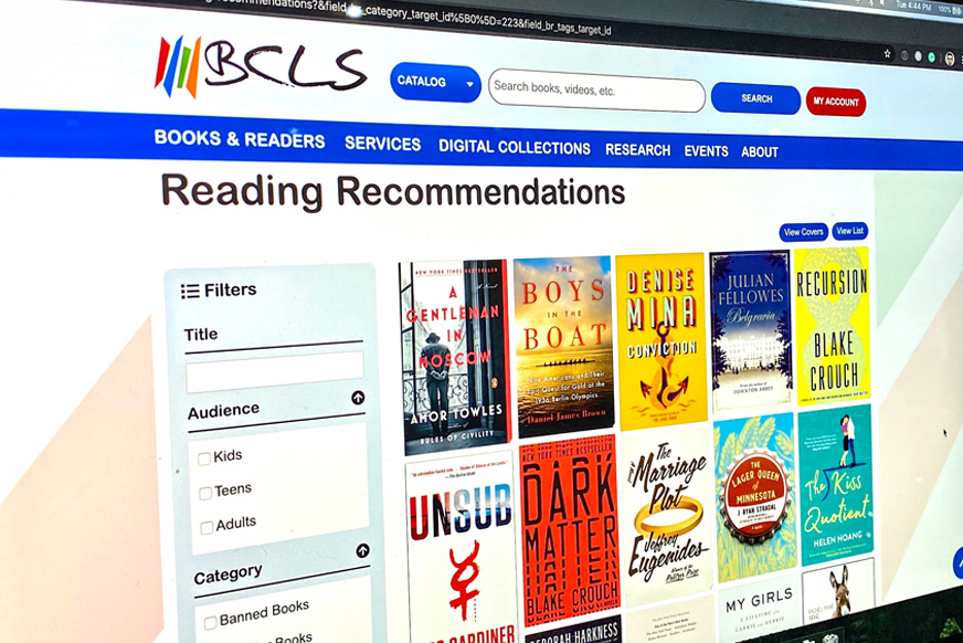Bay County Library System - Book Rivers Content Type